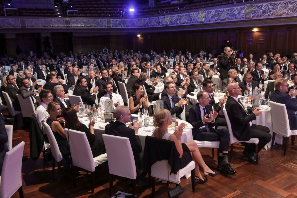 18.09.2018 Wiesbaden ECR Award 2018   Editorial use only / Nur zur redaktionellen Verwendung